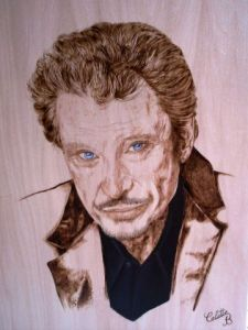 Oeuvre de Colette Bohrer: Johnny Halliday