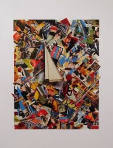 Collage de Christine THELOT: Essais Moderne 13