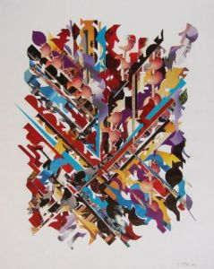 Collage de Christine THELOT: Essais Moderne 17