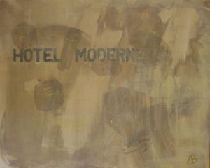 Oeuvre de Alain Bouthier: Hotel Moderne 1