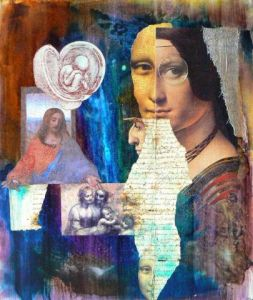 Collage de alex taaz: Da Vinci God