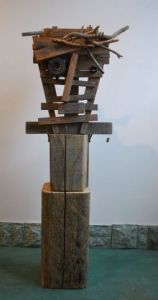 Sculpture de Louise Parenteau: X