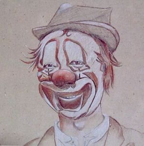 Dessin de Akila: Clown sourire