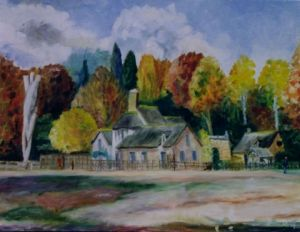 Peinture de clinch: Trianon La Ferme