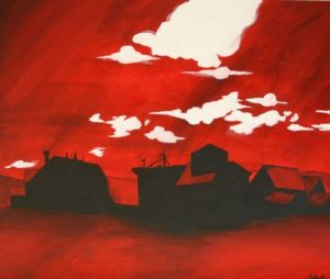 Peinture de seb: Red Valley