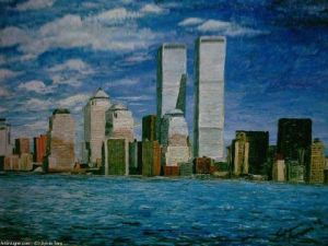 Peinture de anthony_italie: new york impressionniste