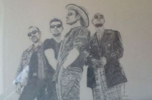 Dessin de sand': U2-best of