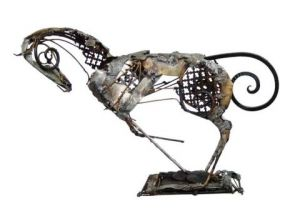 Sculpture de Raghad : cheval