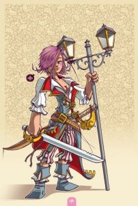 Illustration de supacat: Pirate - 1