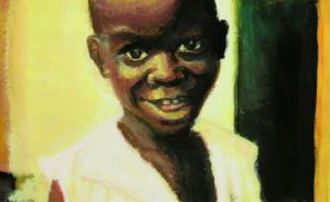Peinture de Djoz: little child