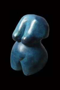 Sculpture de shadow: venus bleu