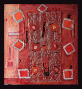 Peinture de Tantanne: Table de No�l