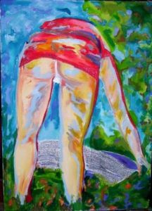Peinture de SARANGELLO: WORK WOMAN