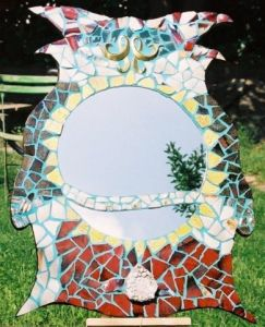 Mosaique de so: chouette