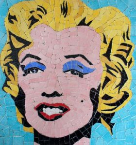 Mosaique de Alexandre: MARYLIN