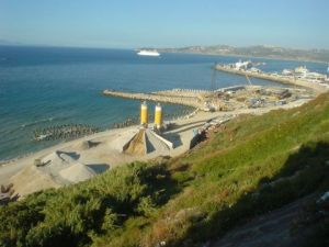 Photo de said: vue sur port de Tanger