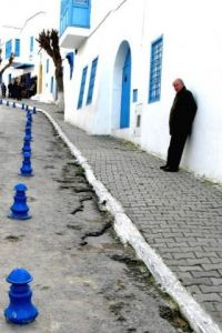 Photo de volontaire: Rue de Sidi Bou Said
