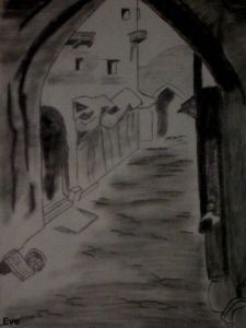 Dessin de Eve: Marrakech