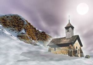 Photo de Alain Gaymard: La vieille chapelle