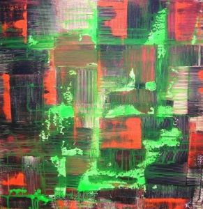 Peinture de Cloo Potloot: Visionary green