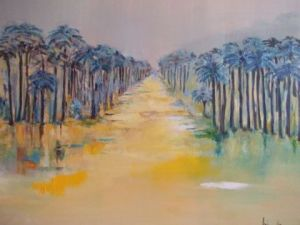 Peinture de bille: la grande all�e