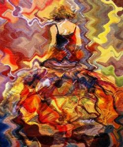 Peinture de rotman ben: woman dance