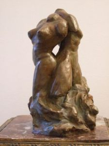 Sculpture de Leonor Luis: Tendre Passion