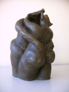 Sculpture de evym: Tendresse