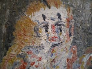 Peinture de Moya Adriano: The Clown