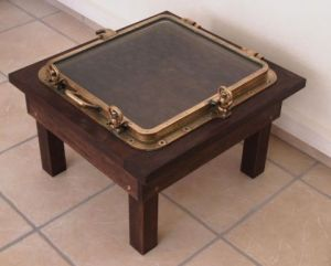 Artisanat de Daniel Barre: table basse