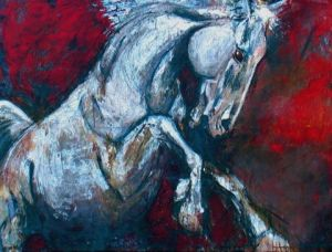 Peinture de simon north: War Horse