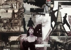 Collage de Francois Geal: Paris