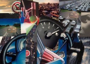 Collage de Francois Geal: Trafic