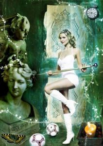 Art_numerique de Bulot: Sarah michelle gellar (Buffy)