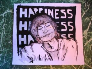 Dessin de Melo: Happiness
