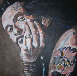 Peinture de ljn: willy deville