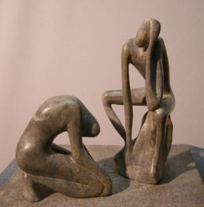 Sculpture de Nai: duo