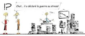 Illustration de LE GLOUBI de PADU: LA GUERRE DU STRESS