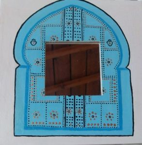 main de fatma peinture pakou. Black Bedroom Furniture Sets. Home Design Ideas
