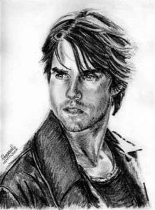 Dessin de Formol: Tom Cruise