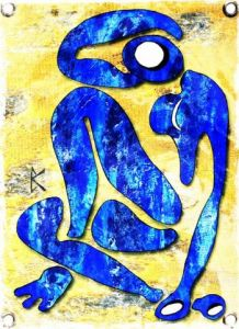 Art_numerique de Bruno KOWALSKI: BLUE WOMAN G
