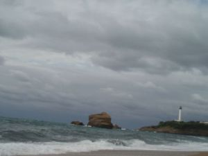 Photo de viviancrettol: phare de Biarritz