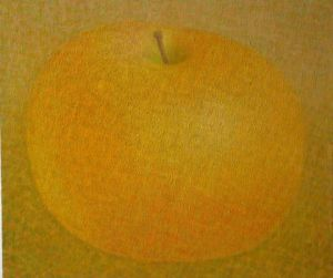 Peinture de flori: yellow apple