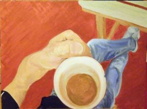 Peinture de elojito: Coffee break