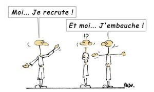 Illustration de LE GLOUBI de PADU: JE RECRUTE