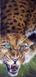Peinture de Joe Johnson: LEOPARD
