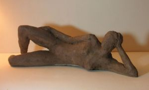 Sculpture de chantal legue: Repos