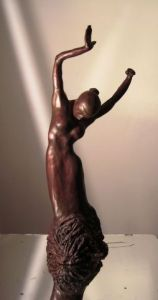 Sculpture de buzy: Danseuse de Flamenco