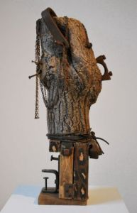 Sculpture de Louise Parenteau: THE LADY SINGS THE BLUES