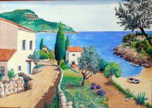 L 39 artiste armand evelyne promenade des anglais la for Artiste peintre anglais